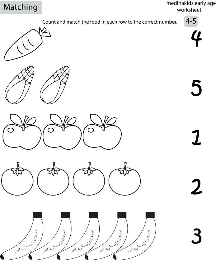 number matching coloring pages number matching for kids coloring sheets matching number coloring pages