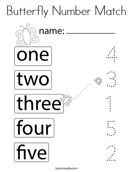 number matching coloring pages sunny day number matching coloring page twisty noodle matching coloring pages number