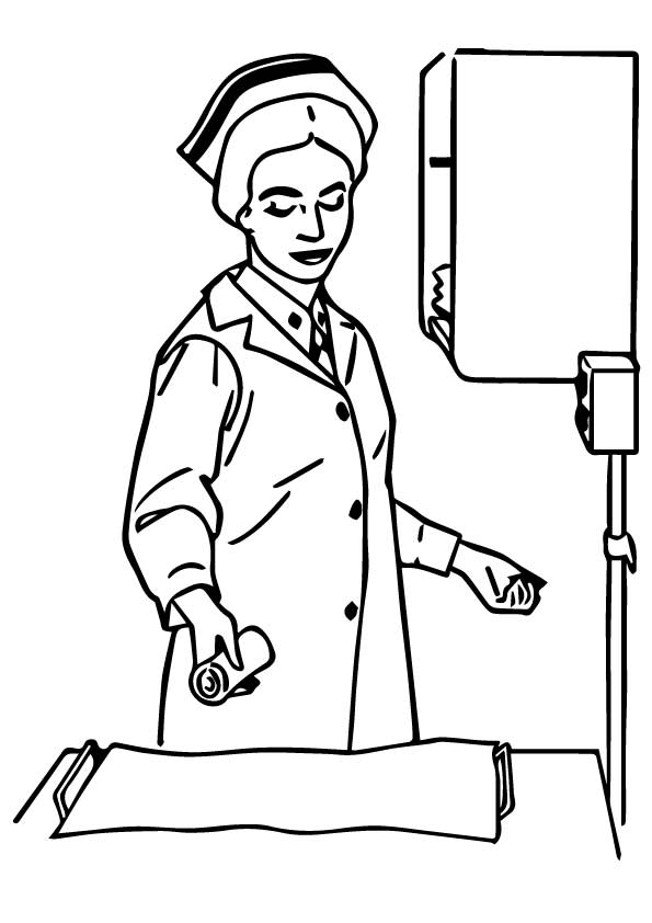 nurse coloring pages nurse coloring pages books 100 free and printable coloring pages nurse