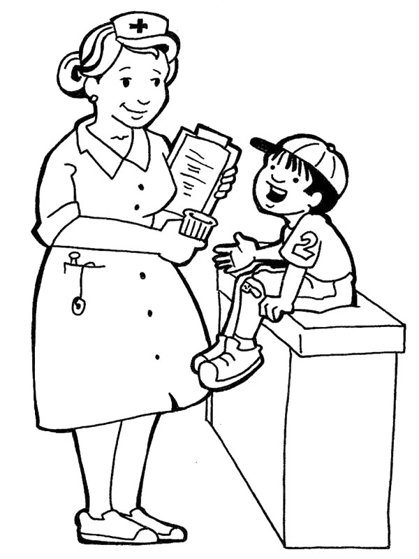 nurse coloring pages nurse coloring pages to download and print for free coloring pages nurse