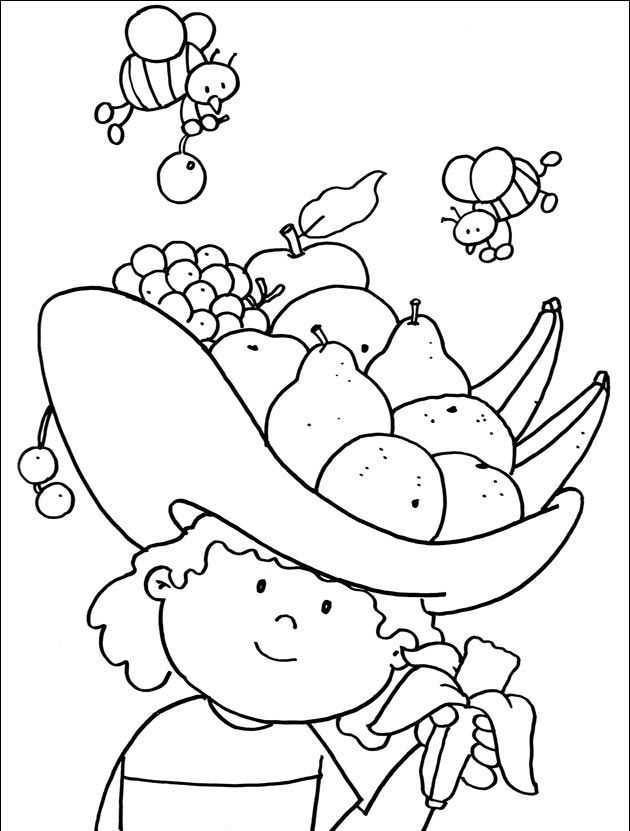nutrition month coloring fruits and vegetables 41 best images about nutrition coloring pages on pinterest fruits nutrition vegetables and month coloring