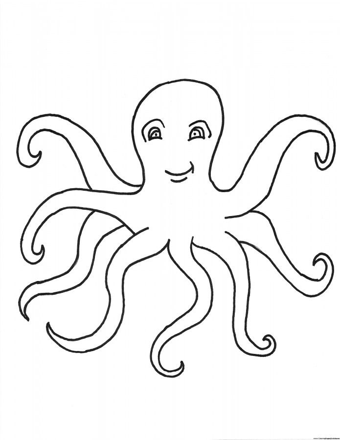 octopus for coloring octopus coloring pages for kids coloring home octopus coloring for