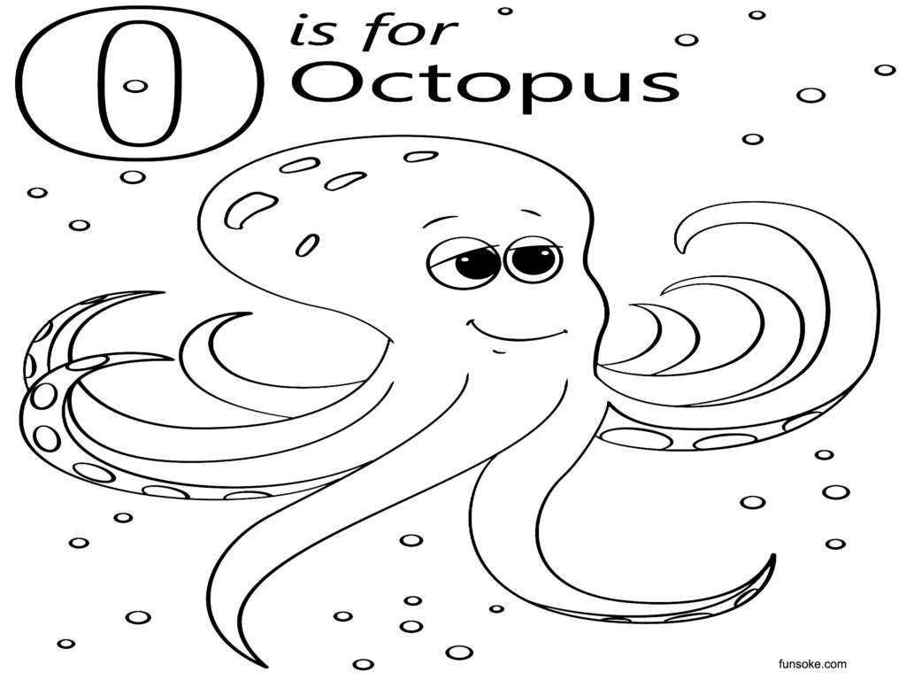 octopus for coloring octopus coloring pages for preschoolers funsoke coloring octopus for