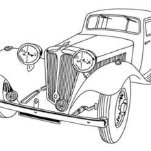 old fashioned car coloring pages 1950s coloring pages at getcoloringscom free printable car fashioned old pages coloring