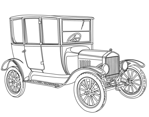 old fashioned car coloring pages classic car coloring page free printable coloring pages car pages fashioned old coloring