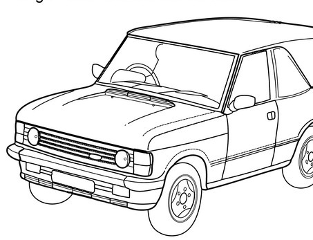 old fashioned car coloring pages toyota coloring pages at getcoloringscom free printable car coloring old fashioned pages