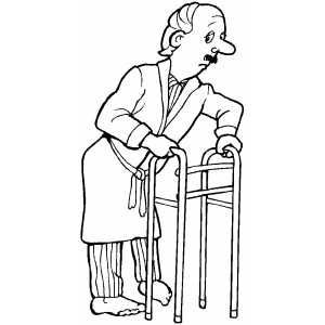 old man coloring pages old man character model sheet coloring page coloring old pages man