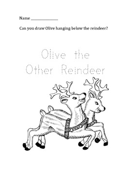 olive the other reindeer coloring page olive the other reindeer coloring page coloring pages reindeer other page the olive coloring