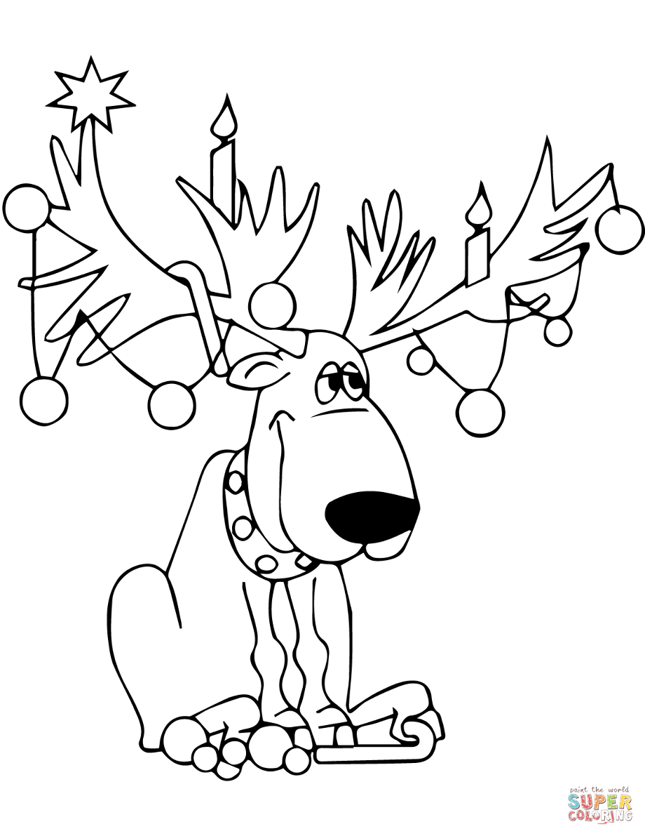 olive the other reindeer coloring page reindeer holiday activities freebie christmas worksheets coloring page reindeer olive other the