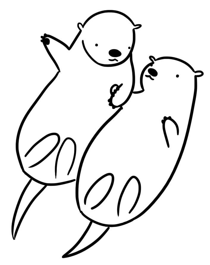 otter coloring page 11 pics of easy sea otter coloring pages sea otter coloring page otter