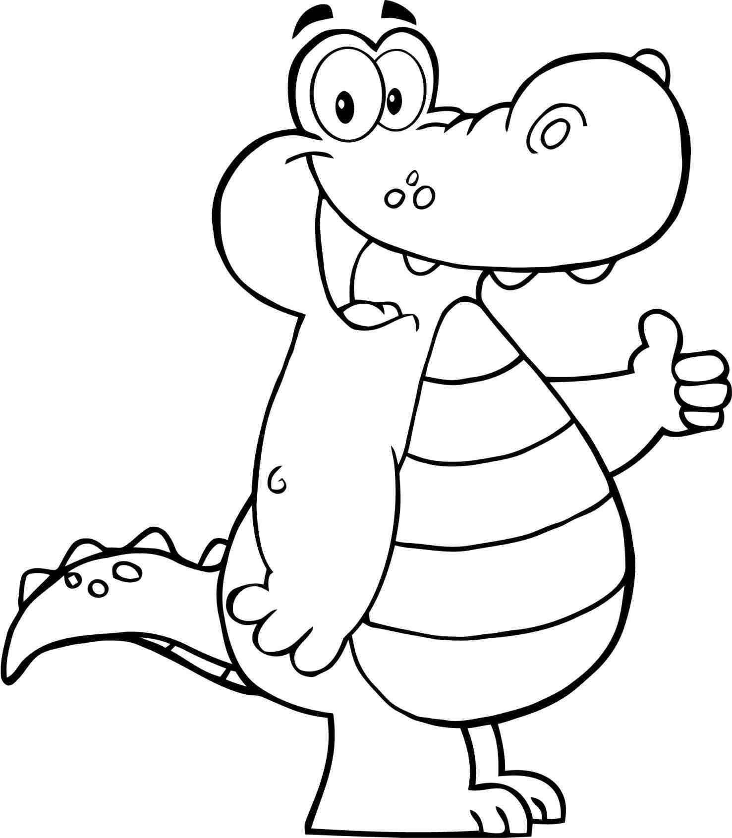 outline picture of crocodile alligator outline drawing at getdrawings free download picture crocodile outline of