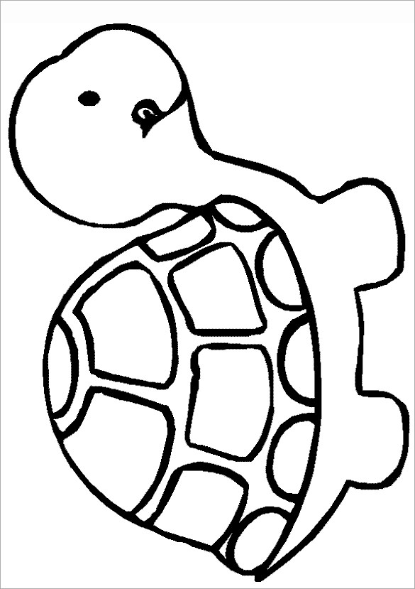 outline picture of tortoise turtle outline cartoon stock vector miceking 139318456 tortoise outline picture of
