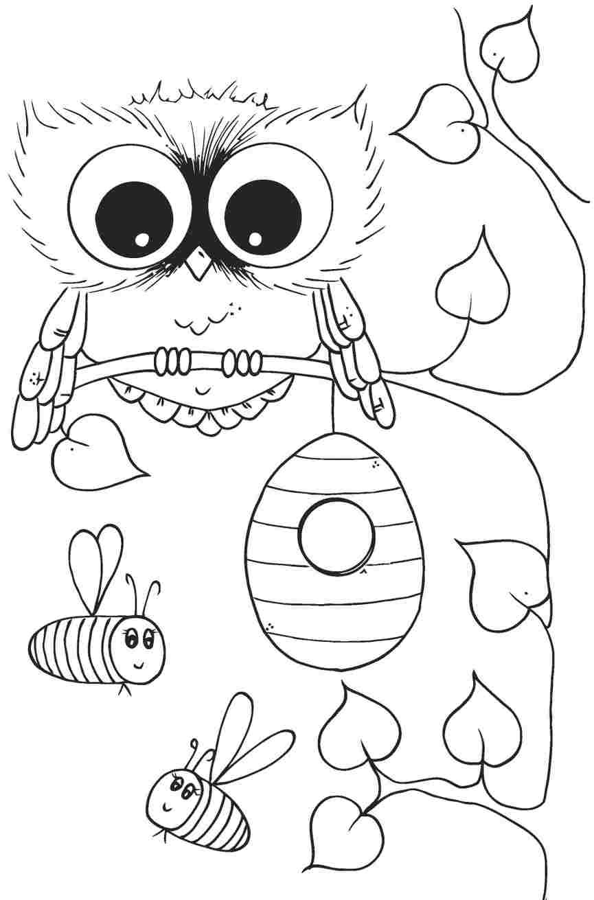 owl coloring pages for girls coloring pages for girls owls at getcoloringscom free for owl girls coloring pages