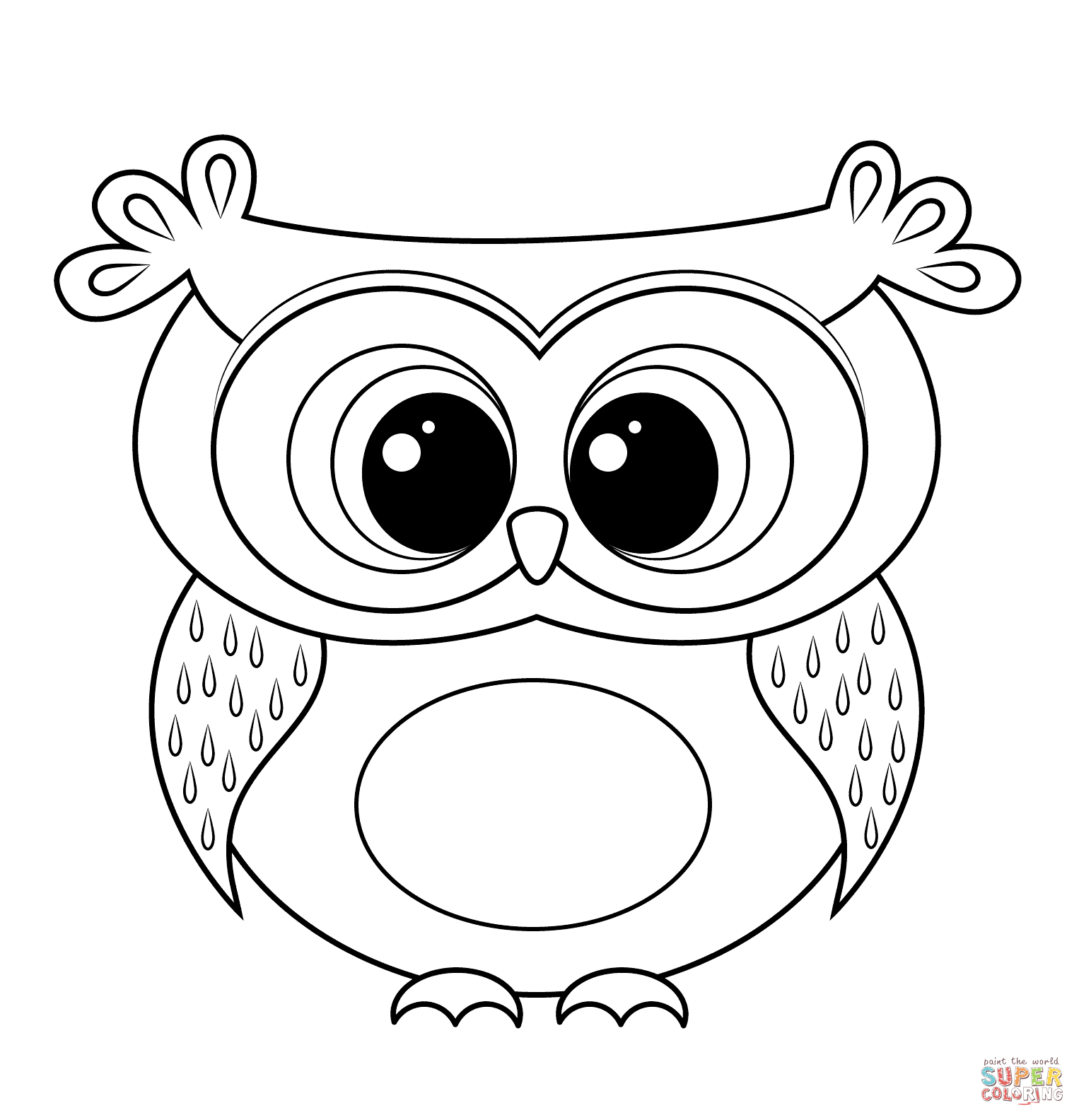 owl picture to color cartoon owl coloring page free printable coloring pages picture to owl color