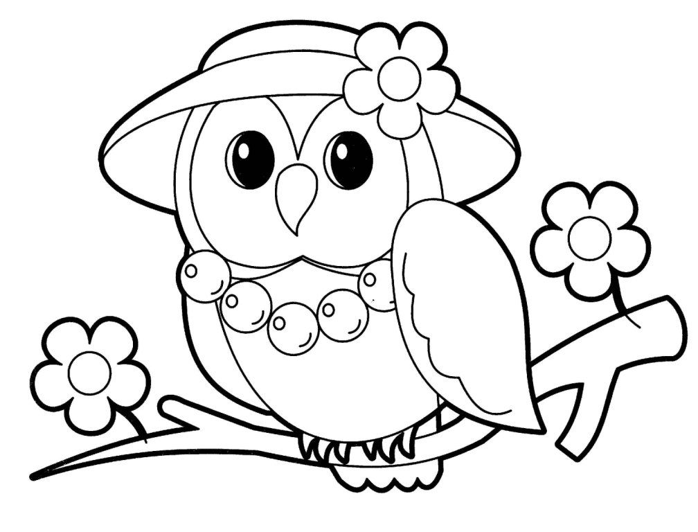 owl picture to color owl coloring pages for kids coloring home color picture to owl