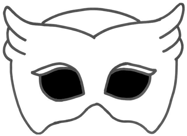 owlette amaya owlette popular easy coloring page find gallery owlette