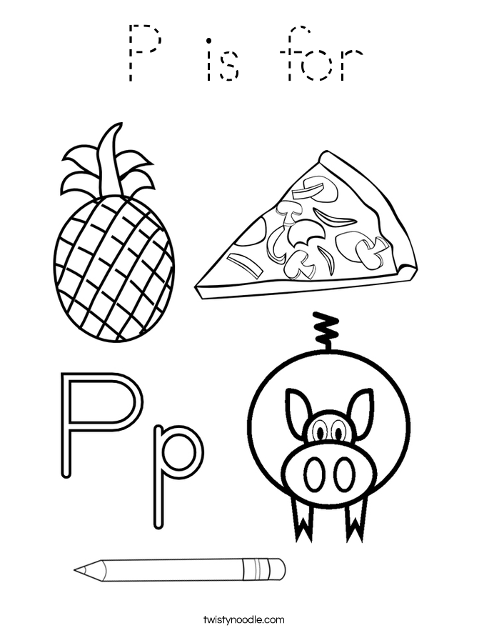 p coloring sheets get this letter p coloring pages princess p31nd p sheets coloring
