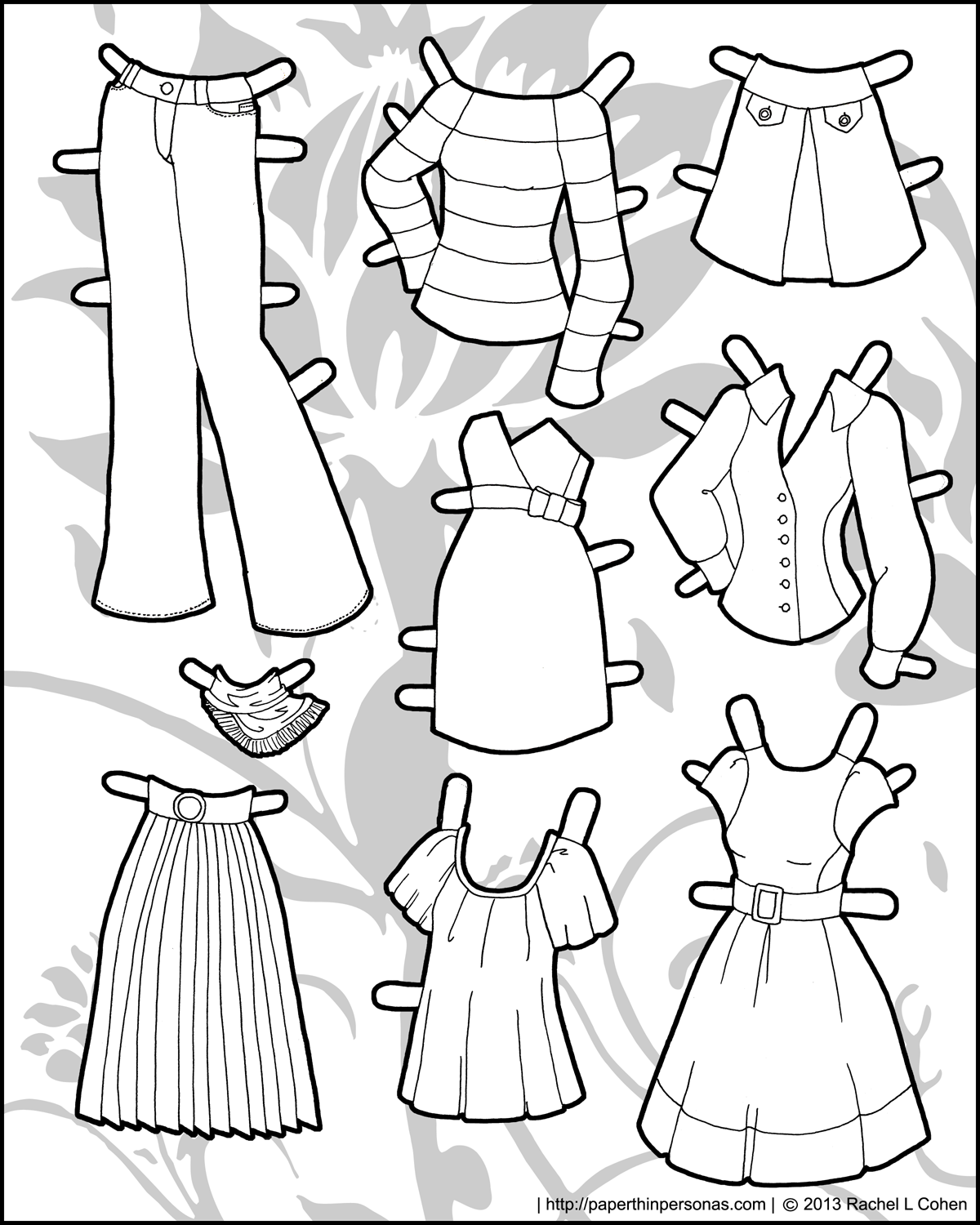 paper doll and clothes printables clothing archives paper thin personas doll clothes and printables paper
