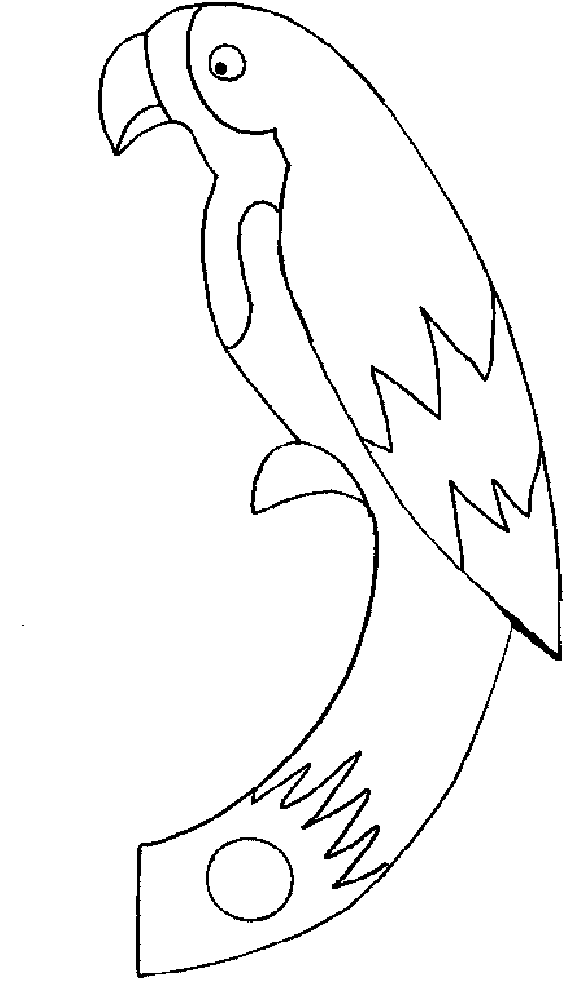 parrot to color free printable parrot coloring pages for kids color to parrot