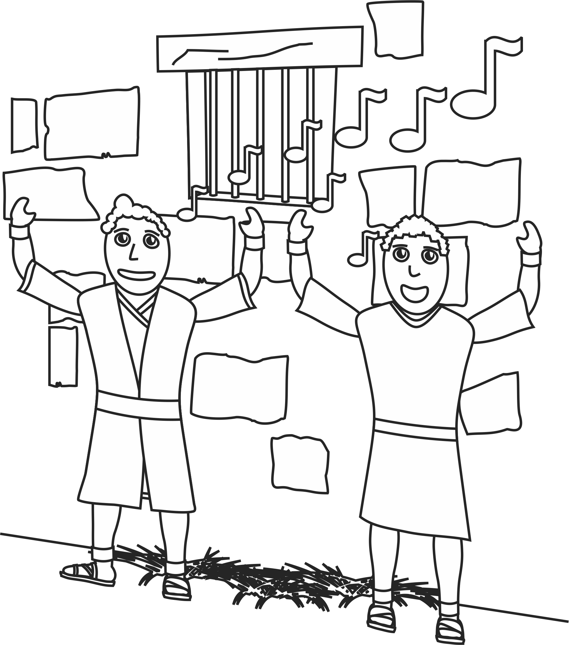 paul and silas coloring page 32 paul and silas in jail coloring page in 2020 with coloring silas and page paul