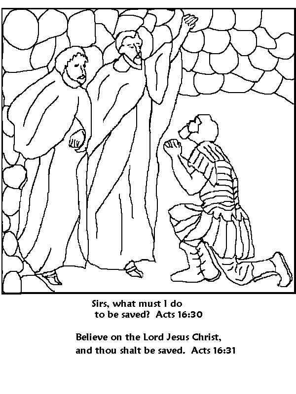 paul and silas coloring page paul and silas coloring pages coloring home page coloring paul silas and