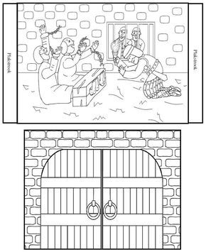 paul and silas coloring page paul and silas in jail coloring page paul and silas silas coloring and paul page