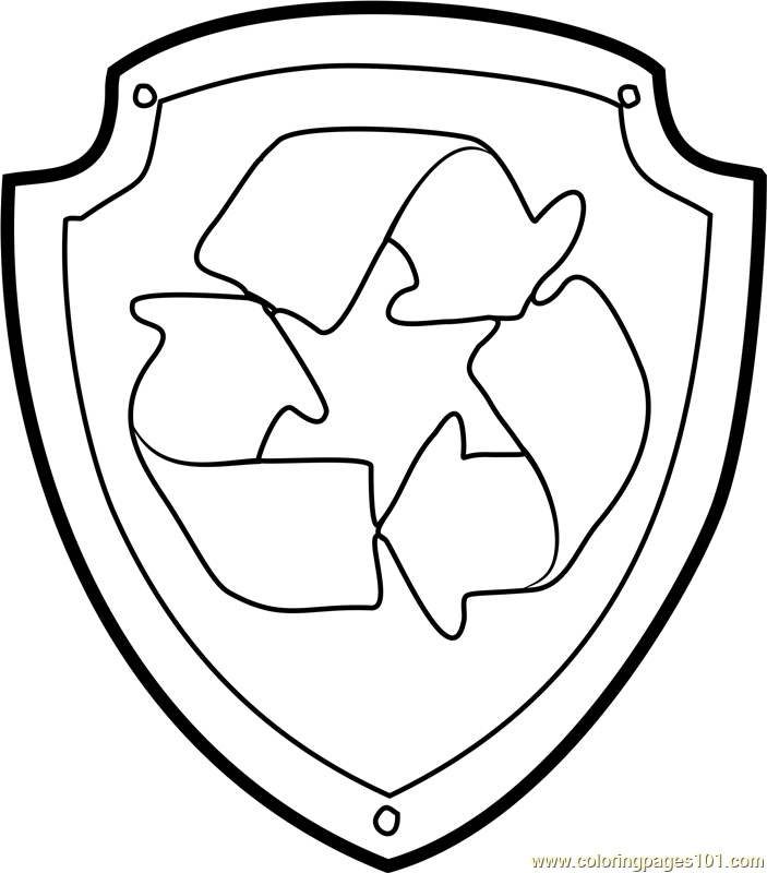 paw patrol badges coloring pages chase badge coloring page free paw patrol coloring pages paw pages patrol badges coloring