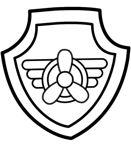 paw patrol badges coloring pages paw patrol badge coloring page paw patrol badge paw patrol pages coloring paw badges