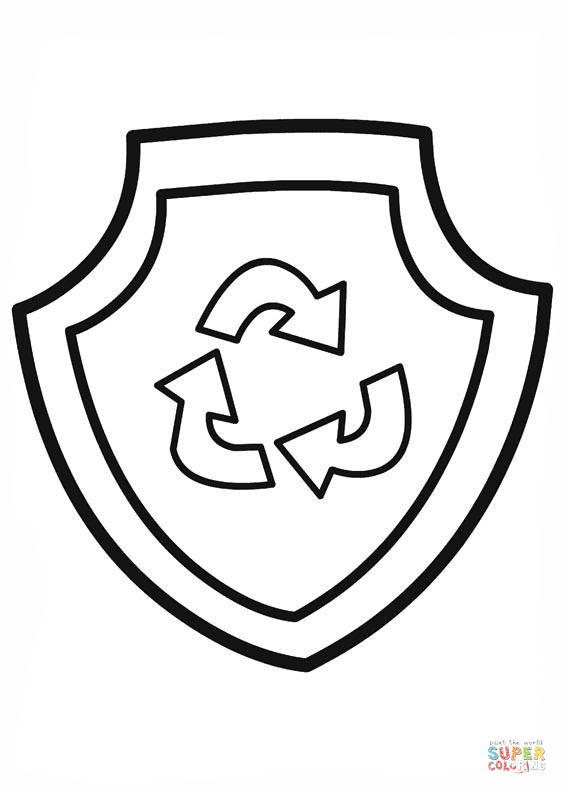 paw patrol badges coloring pages paw patrol zuma39s badge coloring page free printable patrol pages coloring paw badges