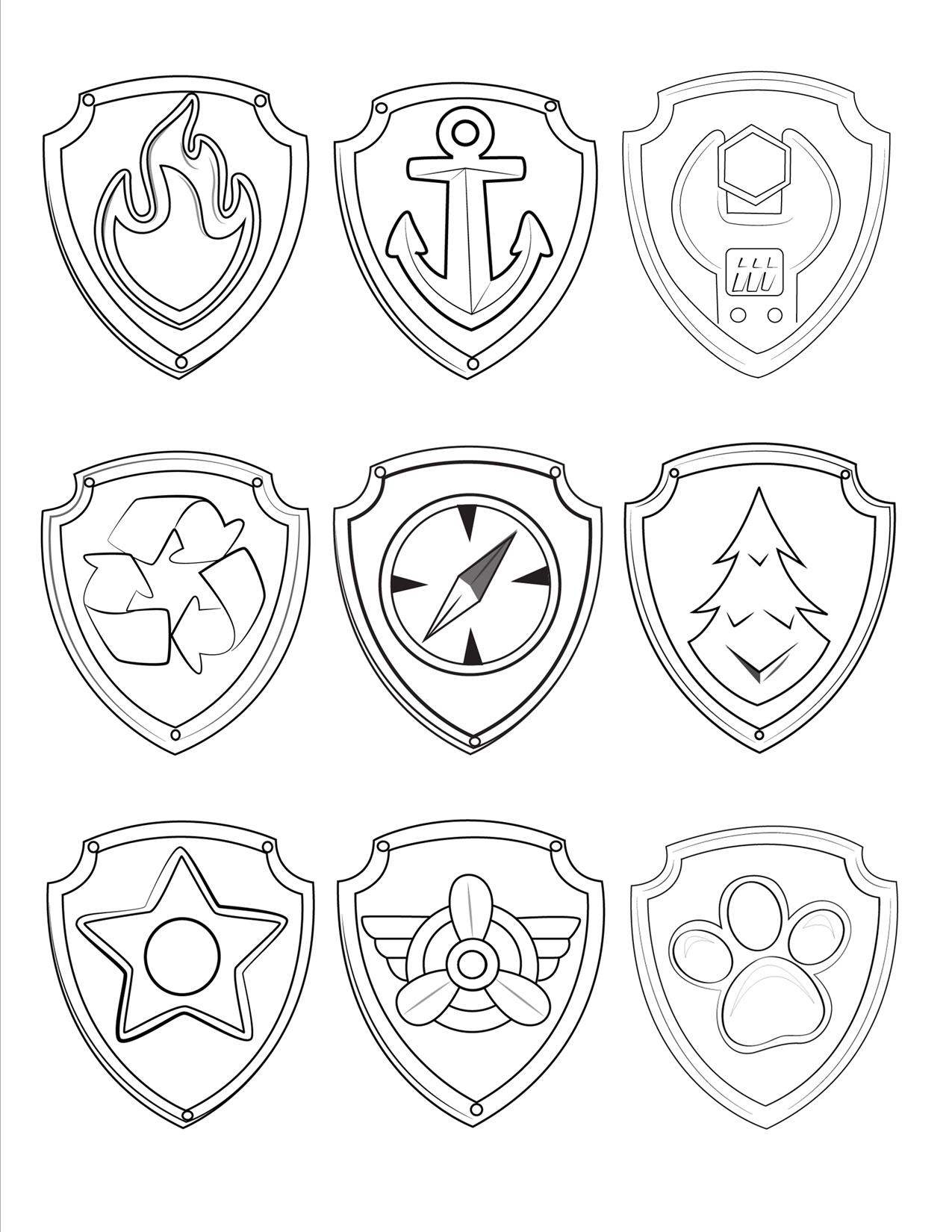 paw patrol badges coloring pages rocky badge coloring page free paw patrol coloring pages coloring patrol badges paw pages