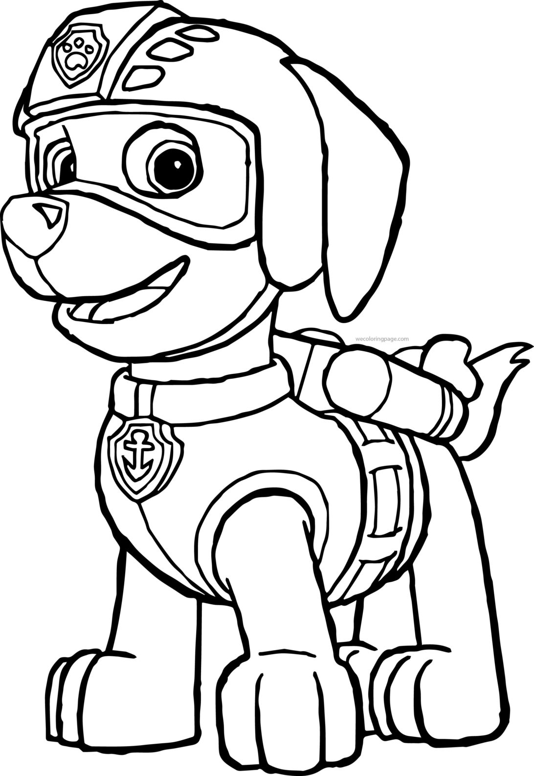 paw patrol chase coloring 25 excellent picture of chase paw patrol coloring page paw patrol chase coloring