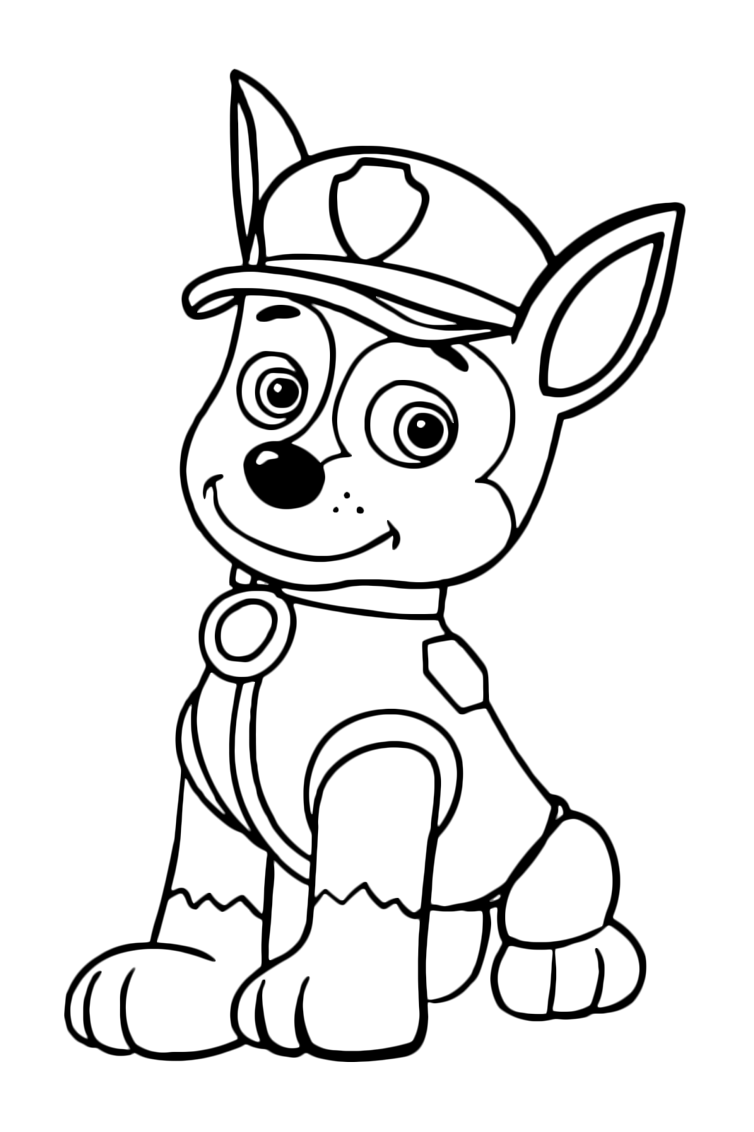 paw patrol chase coloring chase paw patrol coloring page coloring pages for kids paw patrol chase coloring