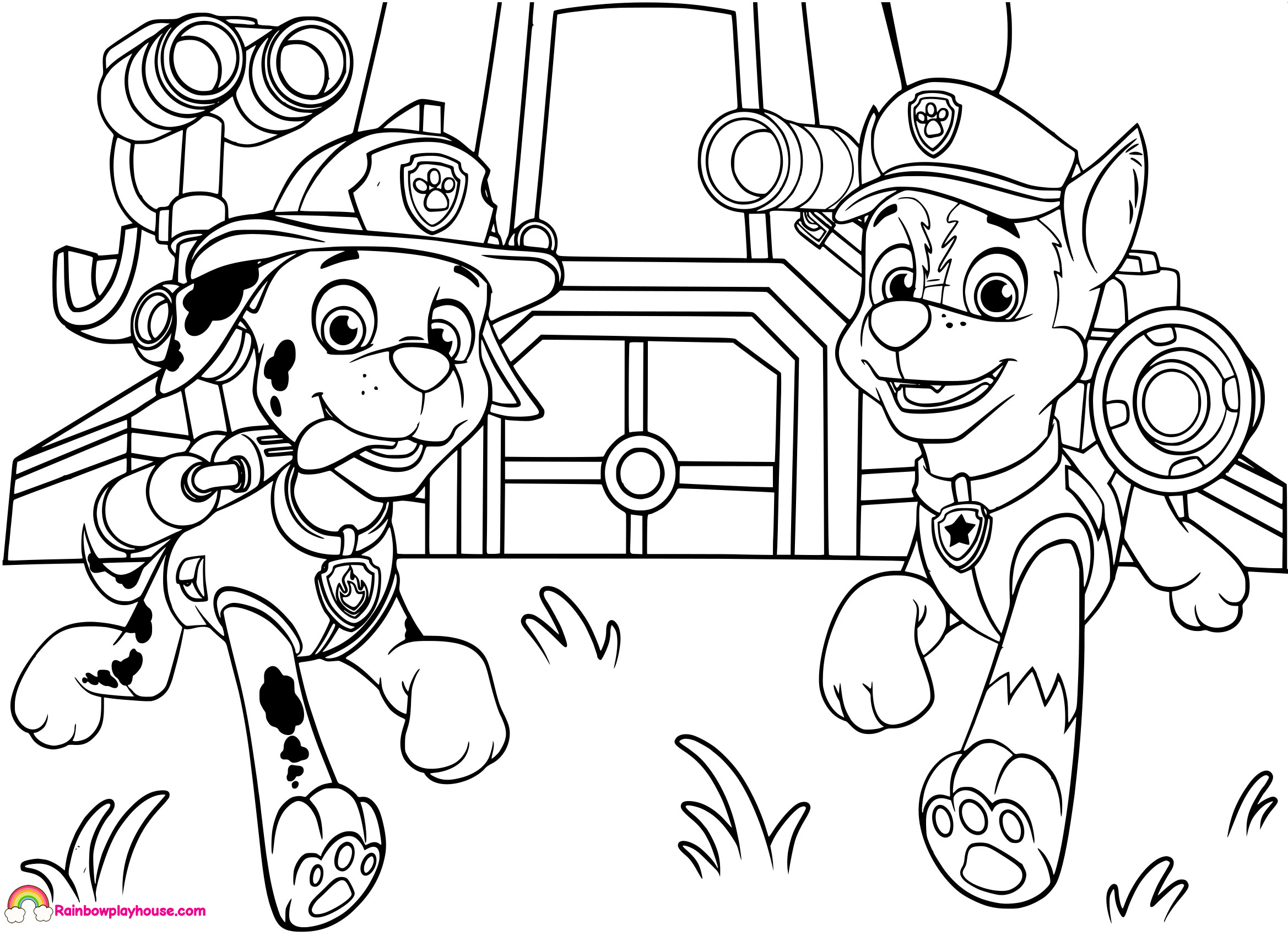 paw patrol chase coloring chase paw patrol coloring pages download and print chase paw patrol coloring chase