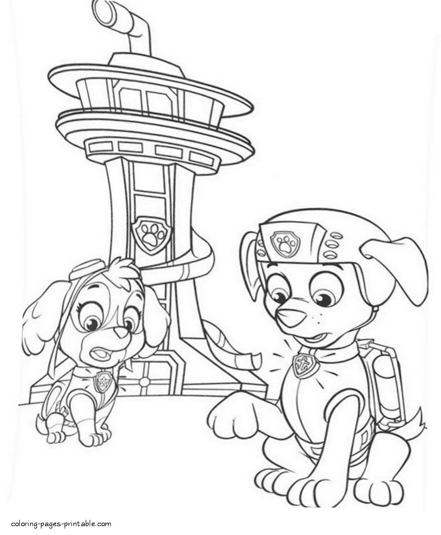 paw patrol chase coloring page chase from paw patrol 3 coloring page free coloring patrol chase coloring page paw