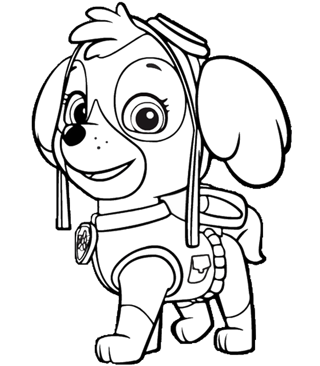 paw patrol coloring outline paw patrol coloring pages printable free coloring sheets coloring patrol outline paw