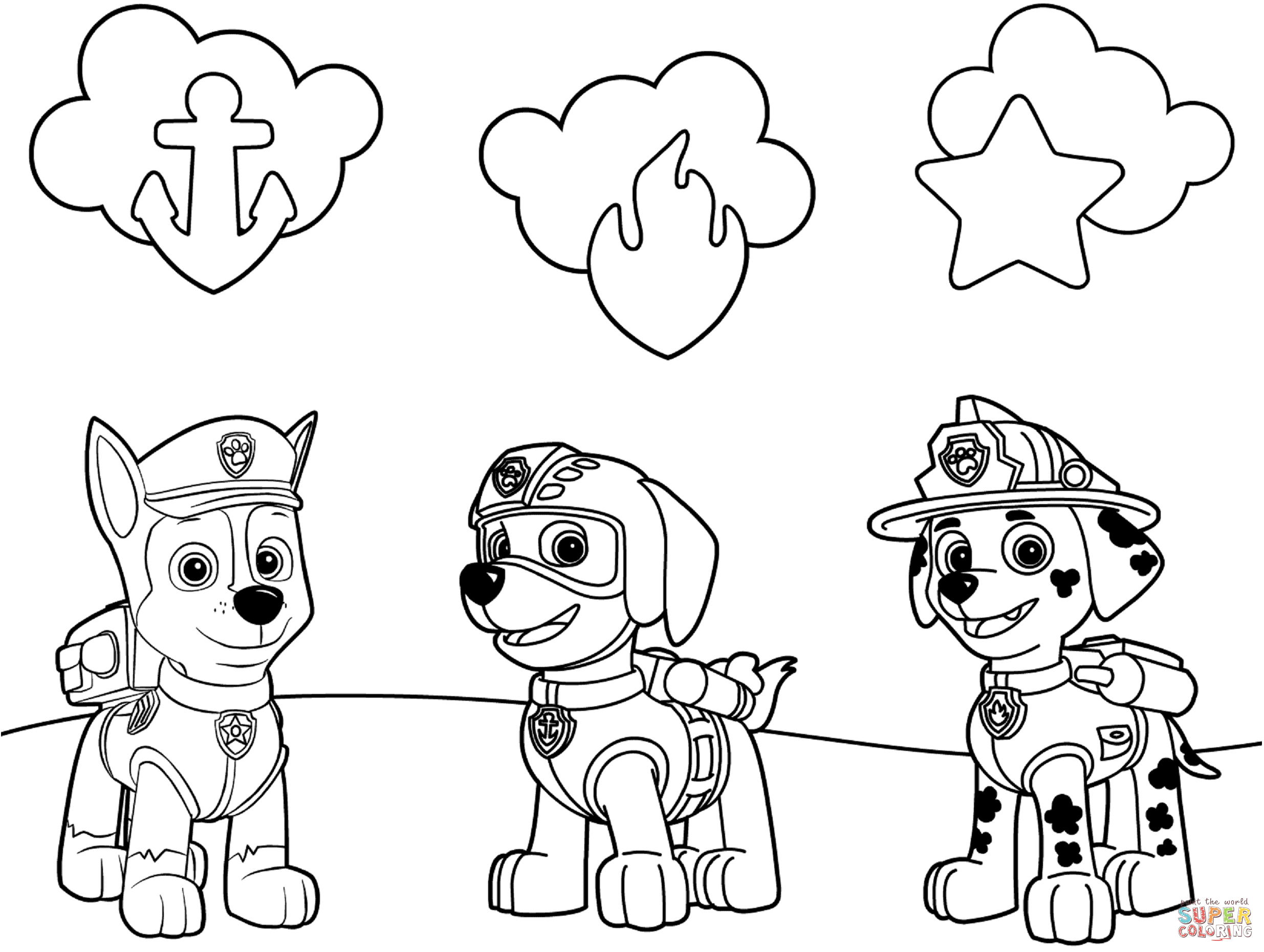 paw patrol jumbo coloring book paw patrol bilder ausmalen sky coloring pages for kids book paw jumbo coloring patrol