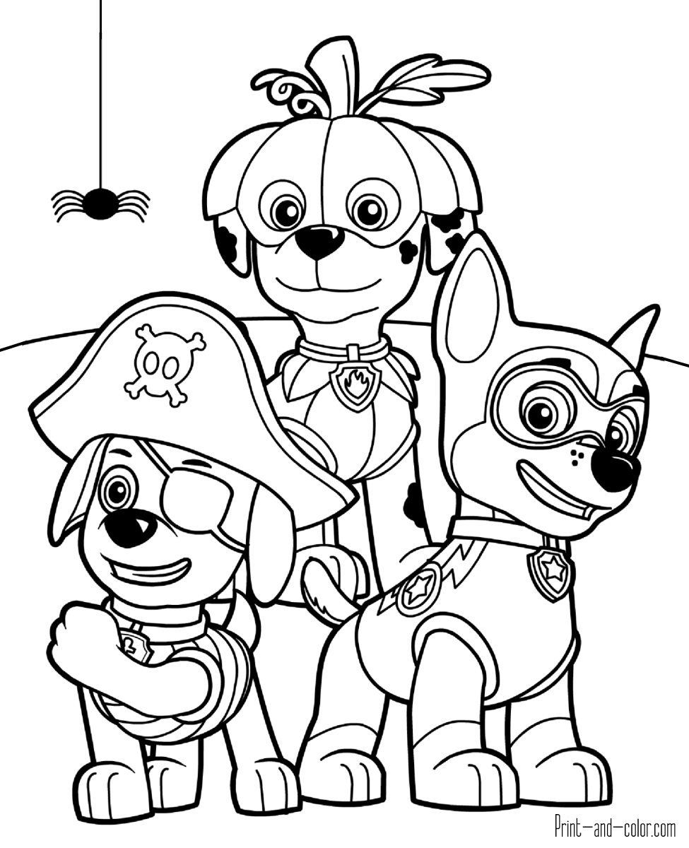 paw patrol pictures to print paw patrol coloring pages print and colorcom print paw patrol pictures to