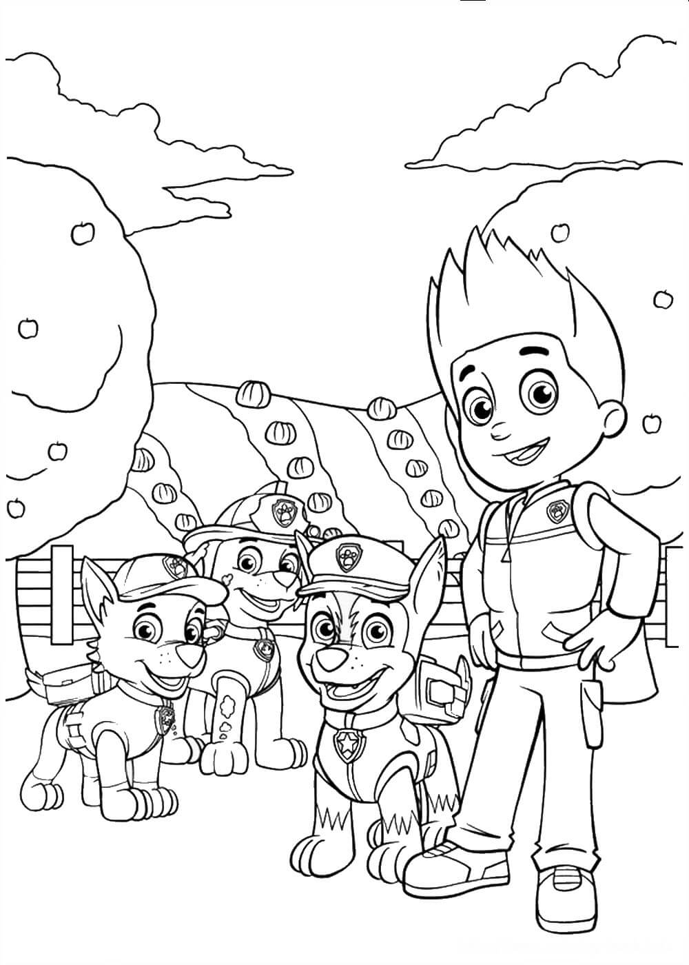paw patrol pictures to print pawpatrolcoloringpage22 coloring pages for kids patrol pictures print paw to