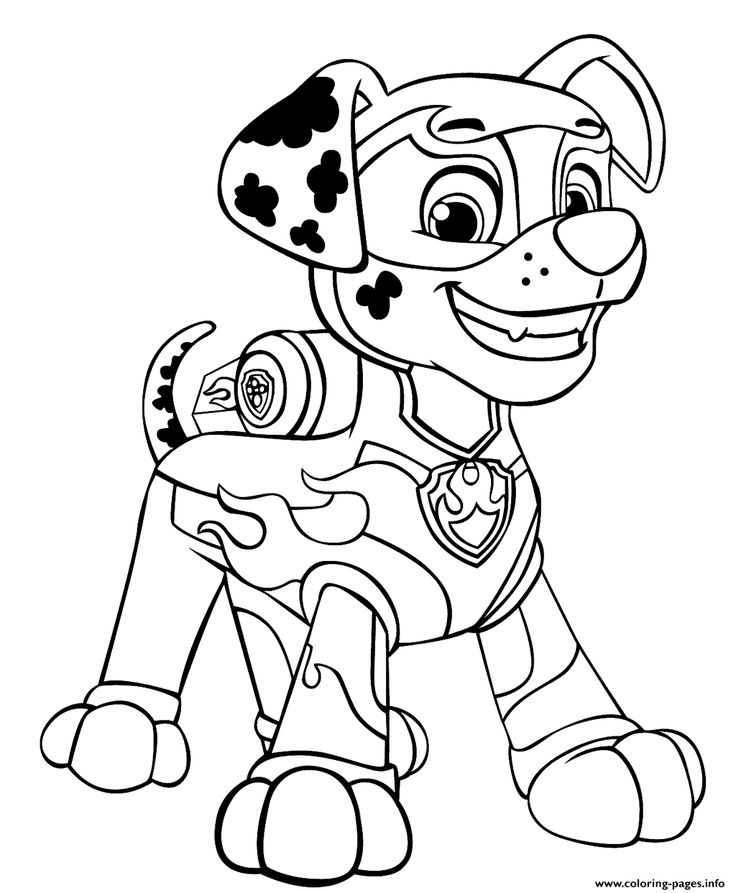 paw patrol pictures to print print paw patrol mighty pups marshal for boys coloring print paw to patrol pictures