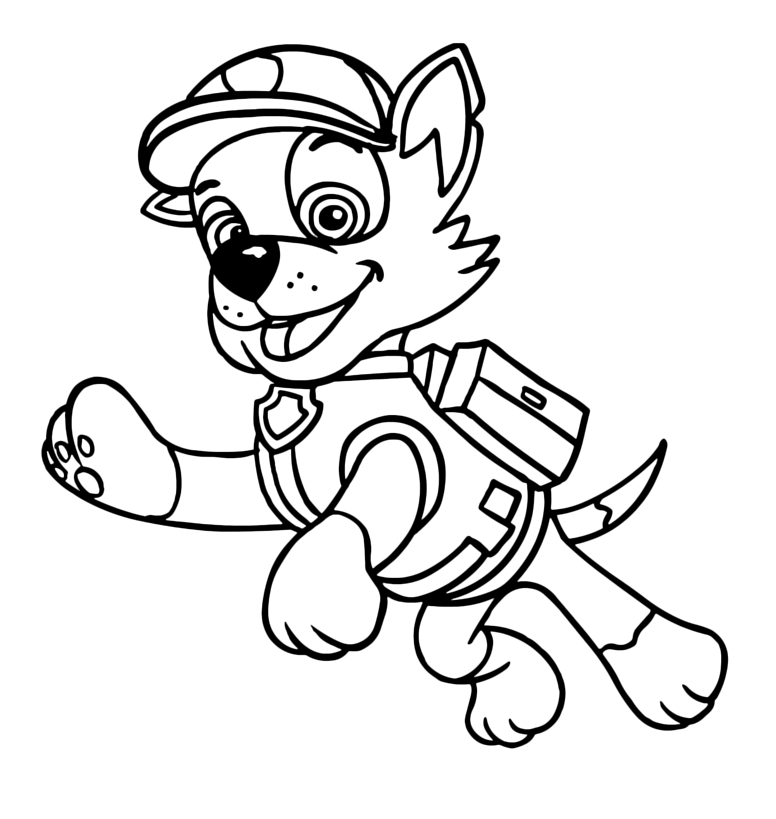 paw patrol rocky rocky paw patrol coloring pages at getcoloringscom free patrol rocky paw