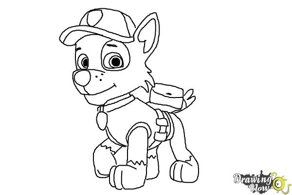 paw patrol rocky rocky paw patrol coloring pages at getdrawings free download rocky paw patrol