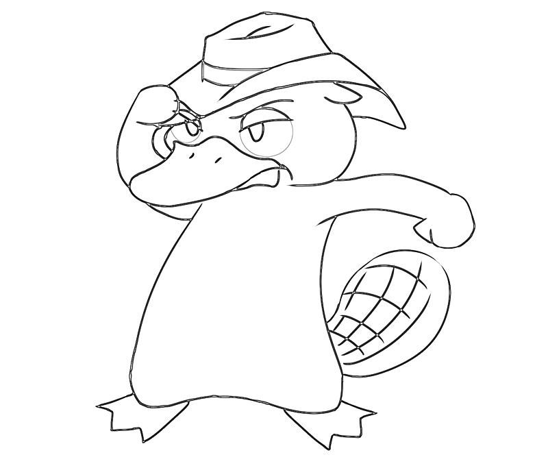 perry the platypus coloring pages 179 best disney coloring pages images on pinterest coloring pages perry the platypus