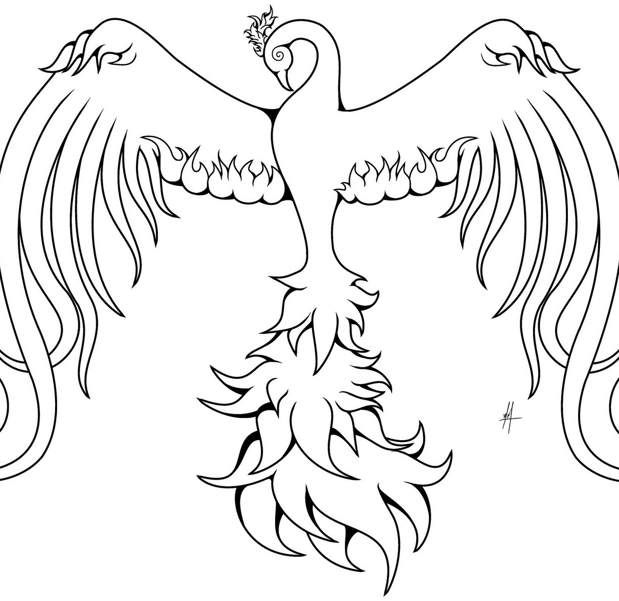 phoenix coloring pages phoenix coloring page at getdrawings free download pages phoenix coloring