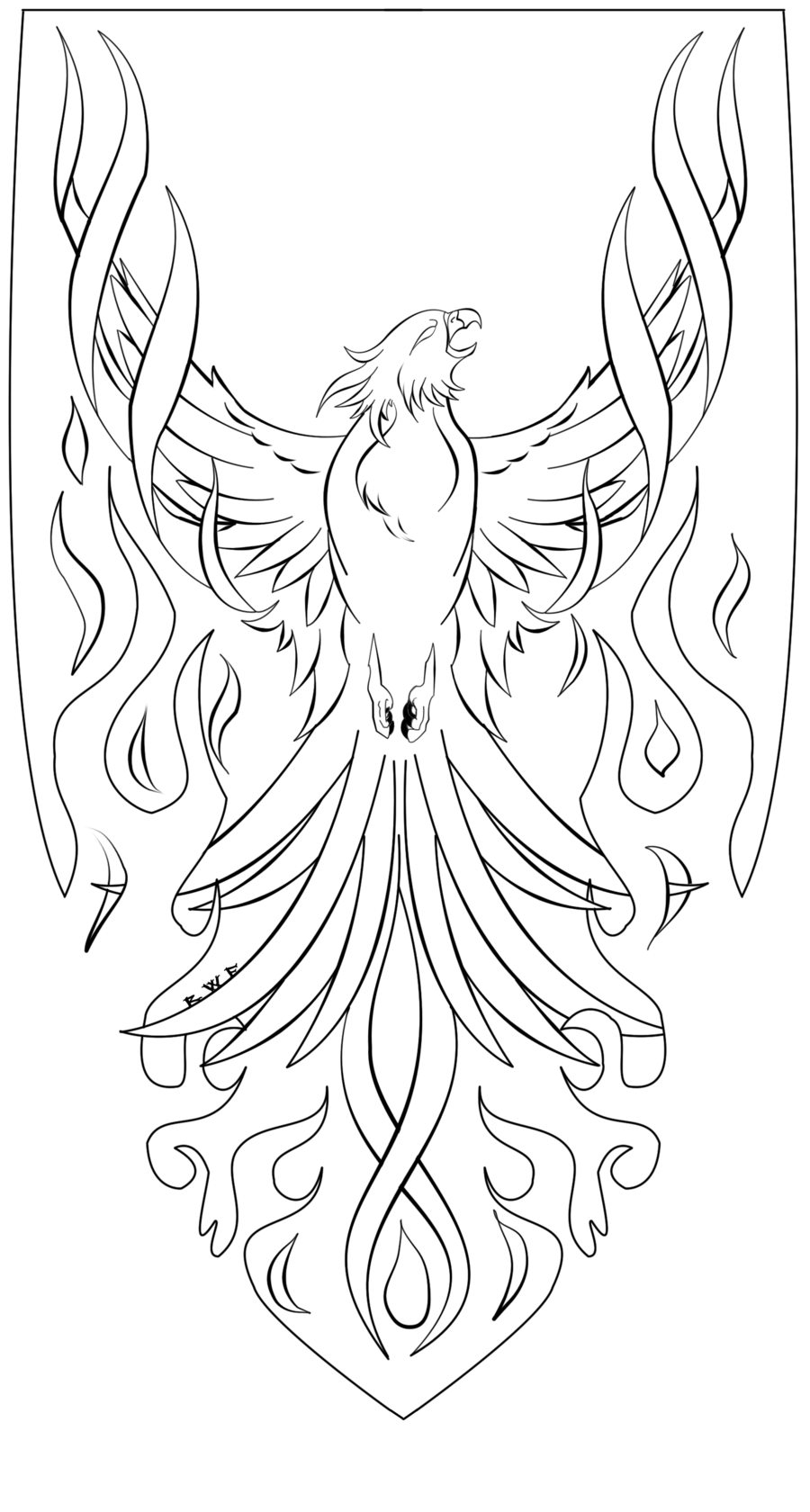 phoenix coloring pages phoenix coloring pages to download and print for free phoenix coloring pages