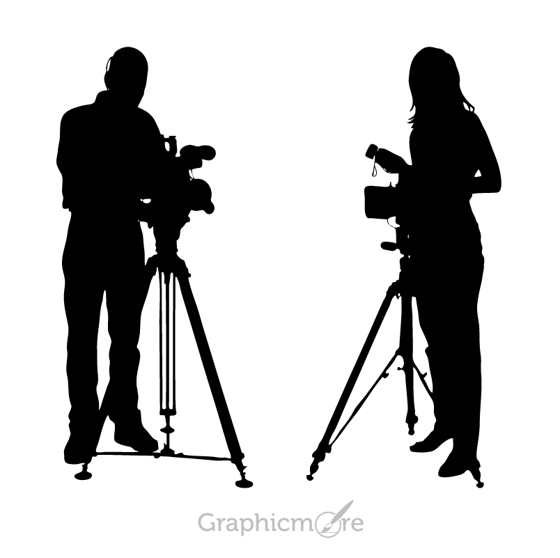 photographer silhouette vector free free vector photographers with camera silhouettes free photographer vector silhouette