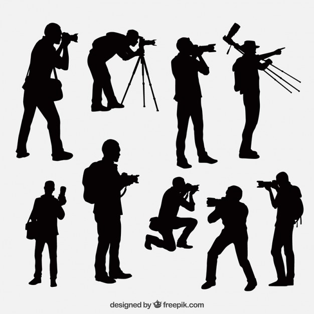 photographer silhouette vector free photographer silhouette design free vector file download photographer free vector silhouette