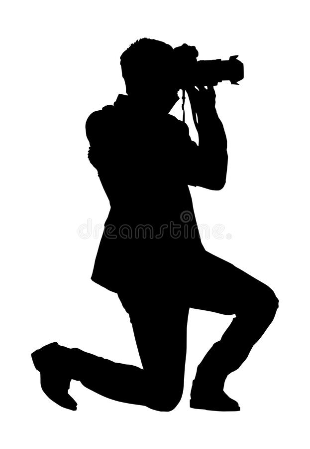 photographer silhouette vector free silhouette cameraman job free vector graphic on pixabay vector photographer free silhouette