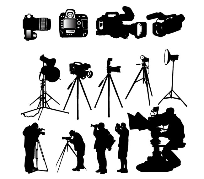 photographer silhouette vector free silhouette photographer camera free vector graphic on vector silhouette photographer free