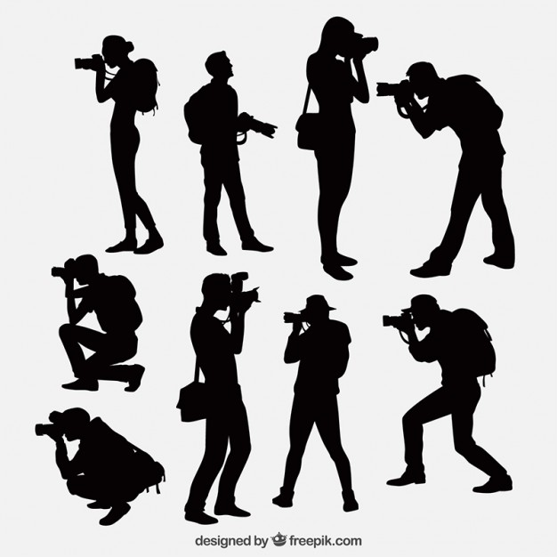 photographer silhouette vector free silhouette photographer clip art at clkercom vector photographer silhouette free vector