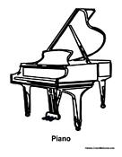 piano pictures to color grand piano coloring page coloringcrewcom to color piano pictures